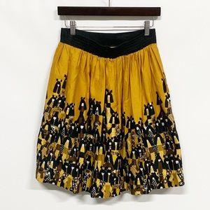 Anthropologie Skirts - Anthro Edme & Esyllte Matriarch Asian Dolls Skirt